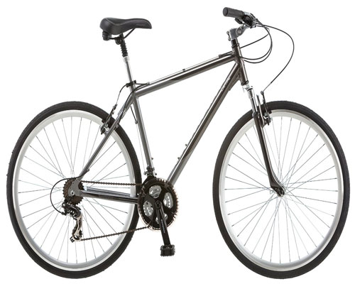 Schwinn Capital 700c Men's Hybrid Bicycle, Medium frame size, gray