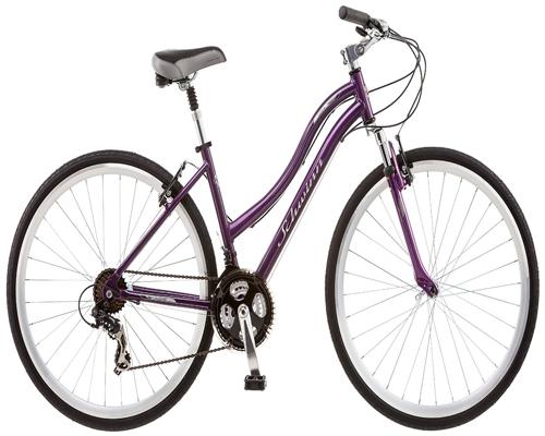 Schwinn Odana 700c Women's 16 Hybrid Bike, 16-Inch/Small, Purple